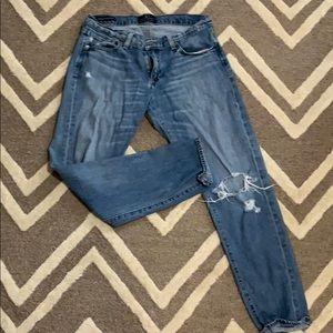 Lucky sienna slim boyfriend jeans 6/28